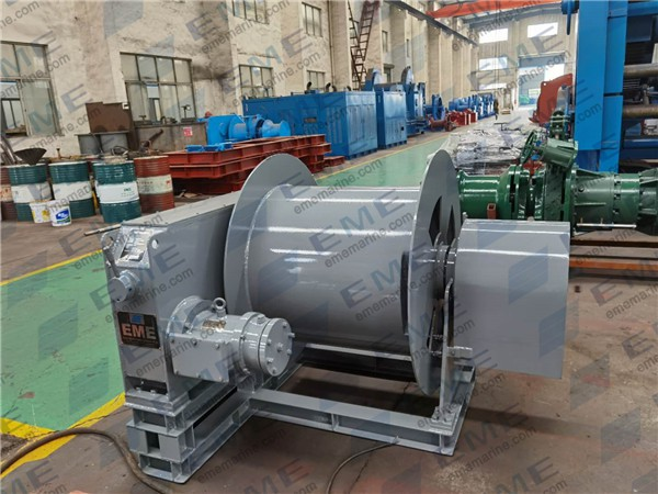 6kN Electric cable winch has been delivered to Ningbo Boda Shipyard.