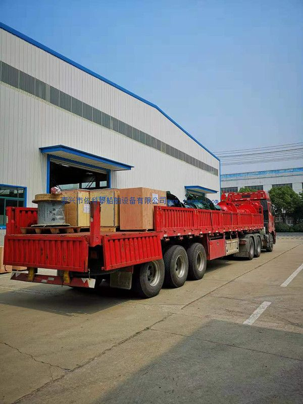 6 sets of electric capstan have been sent to Shandong.
