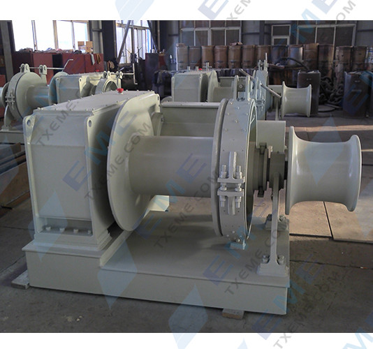 10T electric mooring winch