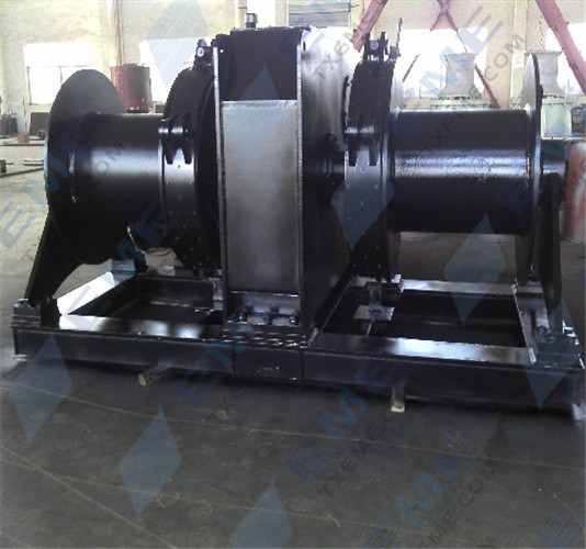 270KN electric explosion proof mooring winch