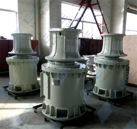 8T electric capstan