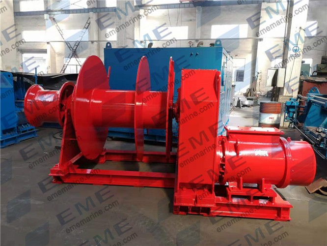20T Electric winch (with split drum)