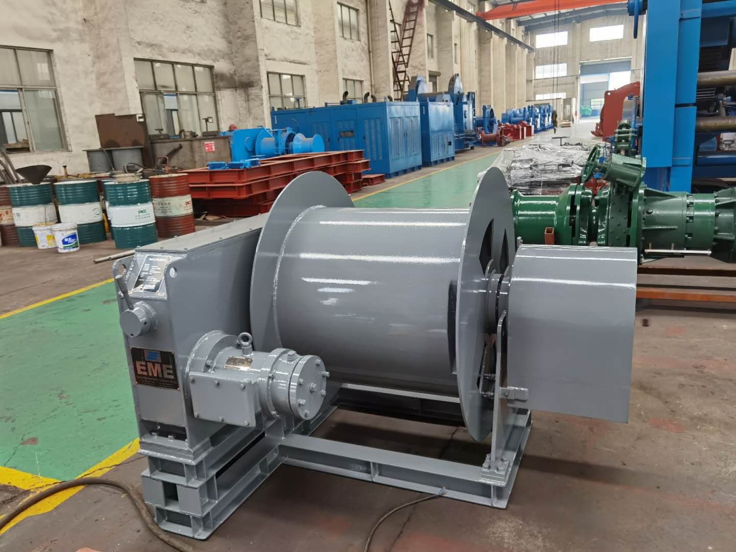 6kN Electric cable winch