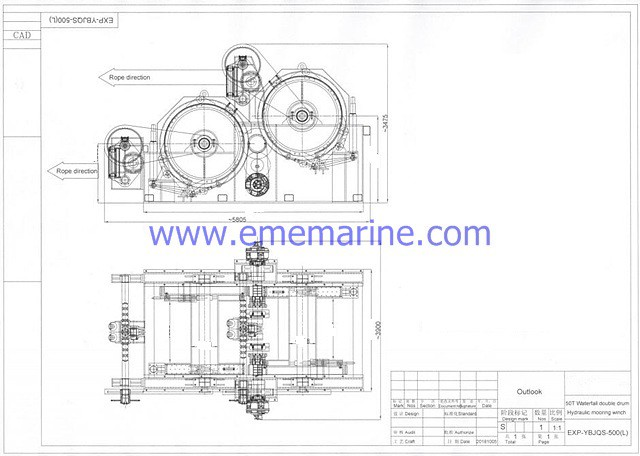 50T Diesel Engine Hydraulic double drums towing winch.jpg
